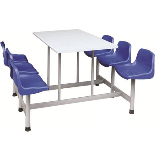 Sử dụng bàn ăn công nghiệp liền ghế cho bếp ăn công nghiệp 3