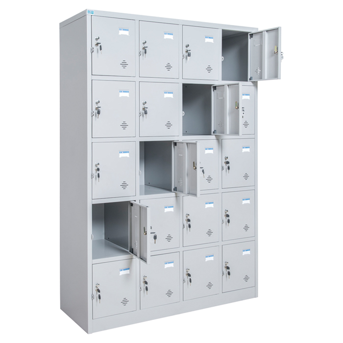 Giới thiệu 4 mẫu tủ locker 20 ngăn Hòa Phát bán chạy nhất 4