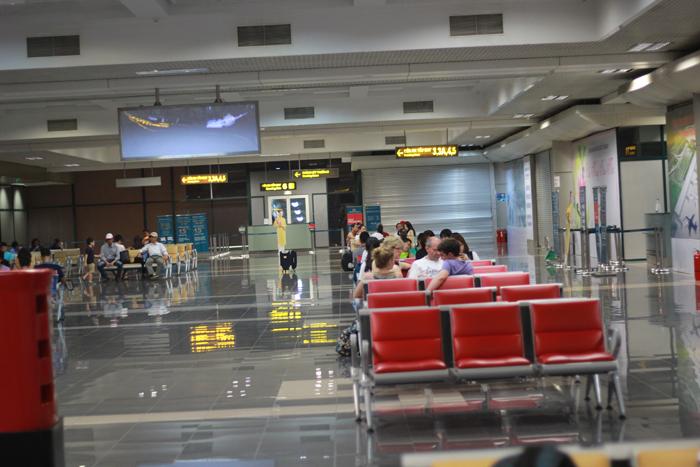 ghế chờ sân bay Nội Bài